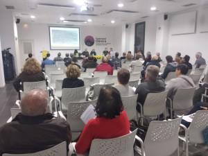 Assistents a l'acte de presentació de SOS La Rierada